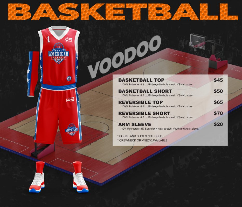 Basketball pricing picture