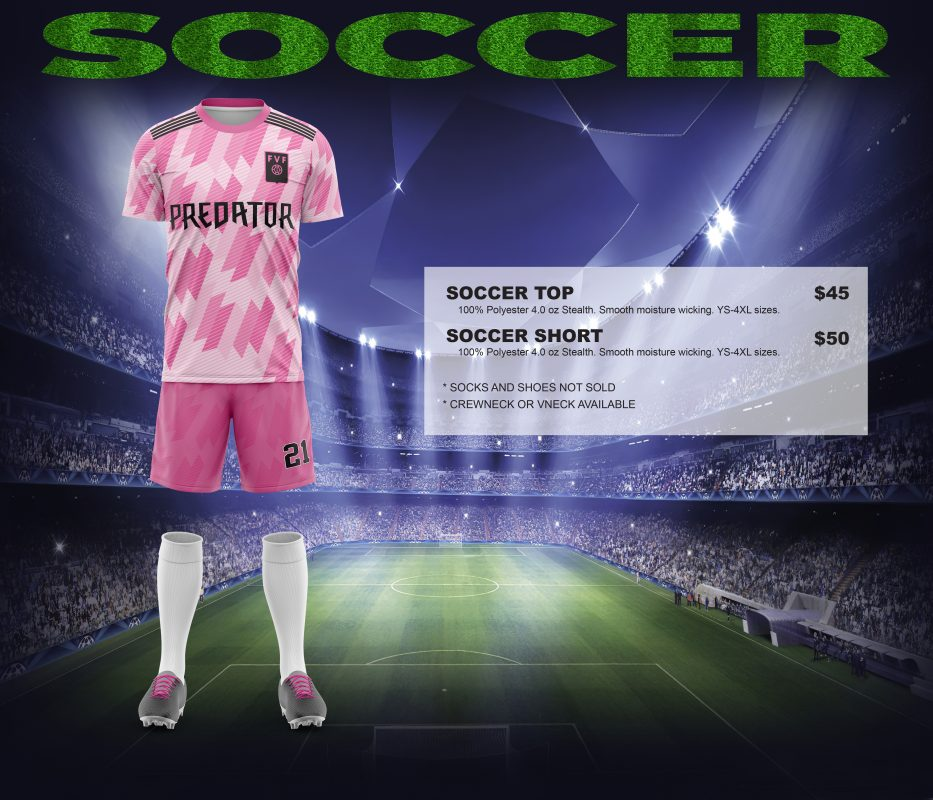 soccer pricing picture